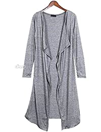 129e19bef3ae Comfortable Cardigan Jacke S M Lang Japan Style Super Long Cotton Maxi S M