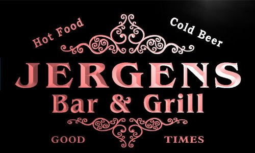 u22089-r-jergens-family-name-bar-grill-home-beer-food-neon-sign-enseigne-lumineuse