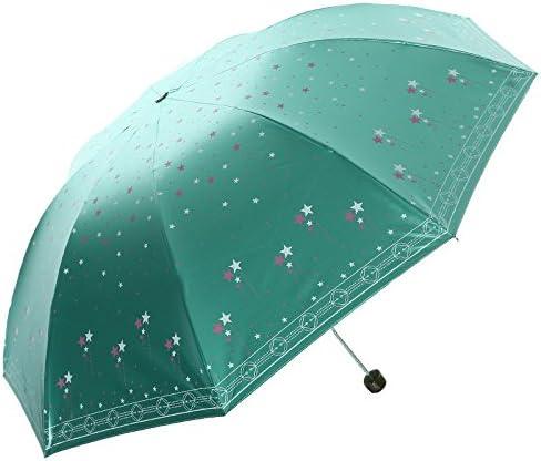 ZQ@QXNero in gomma gomma gomma ultra-strong sunscreen ombrello pieghevole C | Lavorazione perfetta  | Del Nuovo Di Stile  dc1937