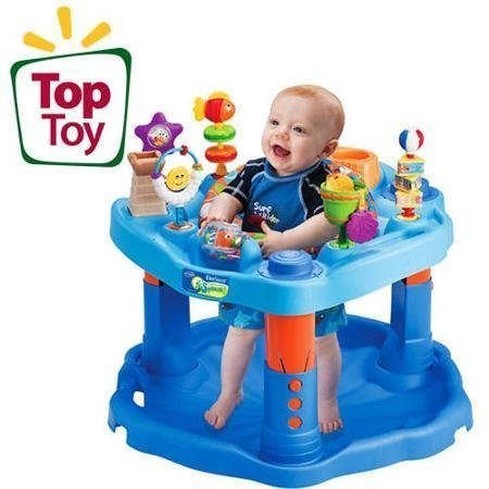 evenflo-3-height-adjust-stationary-baby-development-activity-center-w-toys-by-unknown