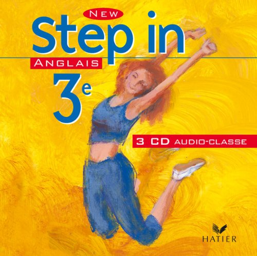 New Step In : Anglais, 3e (CD audio)