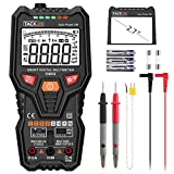 Tacklife DM06 Premium Digital Multimeter True RMS 6000 Counts Auto Range Smart One-Button