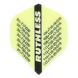 MS-DARTSHOP Dart-Flight Ruthless Standard Checkout (Neon Gelb)