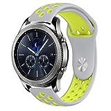 BarRan Vivoactive 3 cinturino, silicone traspirante sport fascia impermeabile alternative orologio da polso cinturino per Garmin Vivoactive 3