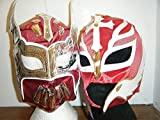 Maschere Wrestling Rey Mysterio e Sin Cara Rossa