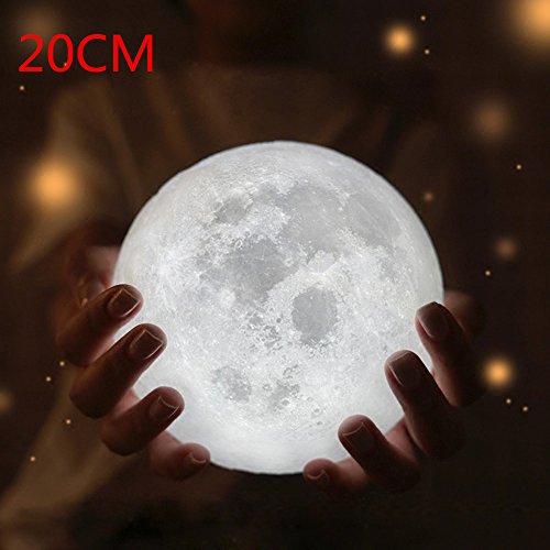 Table Desk Moon Lamp, OverDose 3D USB LED Magische Mond Nacht Licht Mondschein Tisch Schreibtisch Mond Lampe Geschenk nachtleuchte stimmungslicht