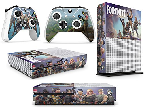 Xbox One S FORTNITE Console Skin Decal Stickers