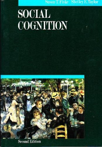 Social Cognition by Fiske, Susan T Published by McGraw-Hill Humanities/Social Sciences/Languages 2nd (second) edition (1991) Paperback