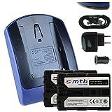 2 Akkus + Ladegerät (Netz+Kfz+USB) FM500H für Sony DSLR Alpha A300 A350../ SLT-A58 A65 A77 A68 A99 (II).. / ILCA-77M2 - s.Liste!