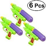 TOYMYTOY 6 Pcs Double Barreled Water Shooters Kids Beach Toys Water Gun