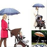 MMRM Bebés y Niños cochecito infantil bicicleta del coche Parasol Umbrella soporte Holder