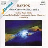 Bartok: Violin Concertos Nos. 1 And 2