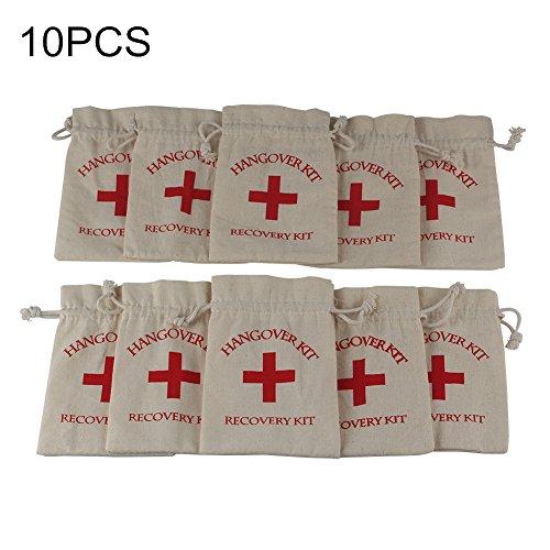 aerwo10pcs-red-cross-cotton-muslin-favor-bags-hangover-kit-drawstring-bag-first-aid-kit-survival-kit