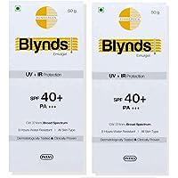 Operio Blynds Sun screen Gel (Pack of 2*50gm)