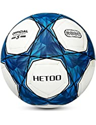 Hetoo Waterproof Football, Most Reasonable Construction Technology Football for Adult and Kids, Best Outdoor Sports Practice Soccer Ball Size 5 4 3