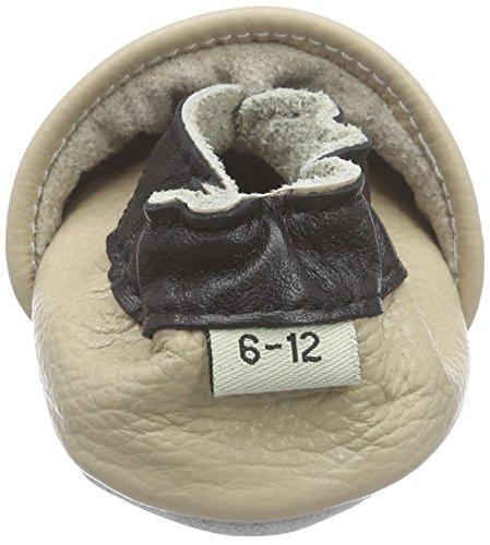 Freefisher, Scarpine primi passi, 6-12 mesi, motivo: Gufetti, Marrone (Eule) Beige (Panda)