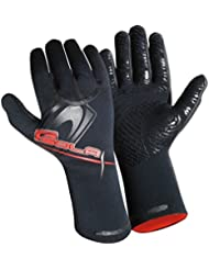 Sola Super Stretch – Guantes de neopreno, Unisex, Super Stretch Neoprene, negro