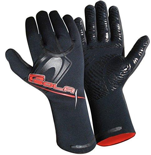 Sola Superstretch Neopren-Handschuhe - schwarz, L /5 mm