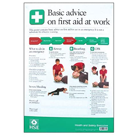 Basic Advice on First Aid Poster (150 x 210mm and Laminated)