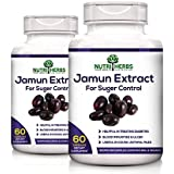 [Sponsored]Nutriherbs Jamun Extract 800 Mg 60 Capsules 100% Natural & Organic (pack Of 2)