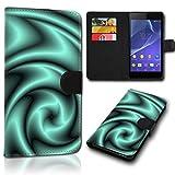 Book Style Alcatel One Touch Go Play 7048X Tasche Flip Brieftasche Handy Hülle Kartenfächer für Alcatel One Touch Go Play 7048X - Design Flip SVH134