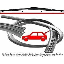 swissint, Repuestos Gomas 420 mm para limpiaparabrisas trasero, para coches asiáticas