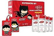 Lifebuoy Hand Sanitizer Super Hero Kit   Superman & Wonder Woman   Anti bacterial 70% Alcohol based Saniti