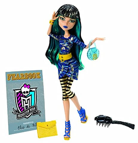 Monster High - Y8496 - Poupée - Cleo de Nile