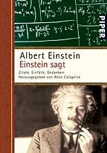 Einstein sagt: Zitate, Einfälle, Gedanken hier kaufen
