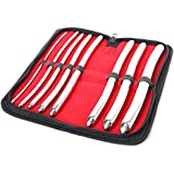 MedTekCo Urethral Dilator Set of 8Metal Probes with Double Ends 3mm to 18mm Professional Quality by MedTekCo Germany