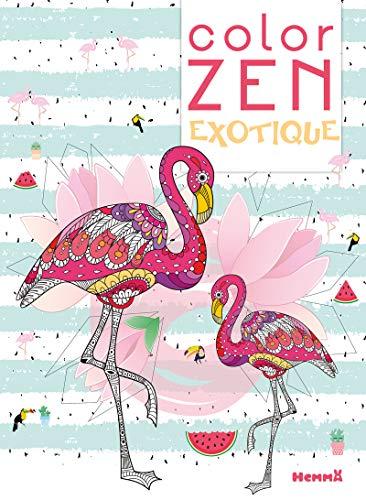 Color Zen - Exotique par COLLECTIF