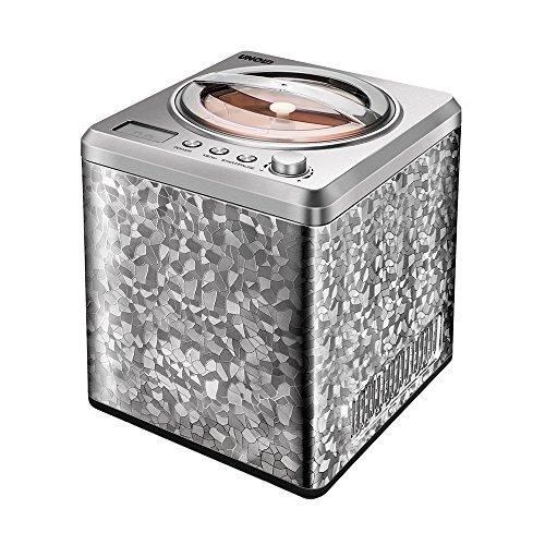 Unold 48870 Eismaschine Profi mit Kompressor, 2 L Eiscreme