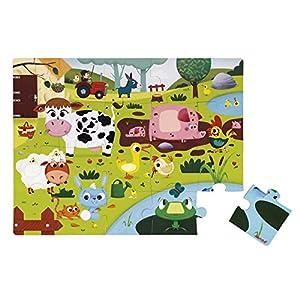 Janod – Puzzle Tattile 20 pezzi