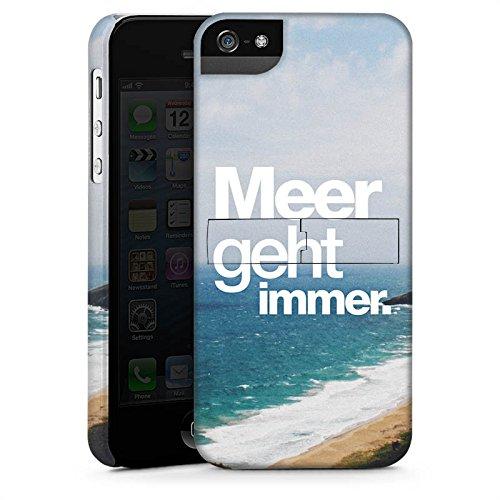 Apple iPhone X Silikon Hülle Case Schutzhülle Meer Sommer Sprüche Premium Case StandUp