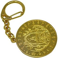 Medallón de curación de Buda de la medicina Fengshui llavero + libre Mxsabrina rojo cadena pulsera W1067-1