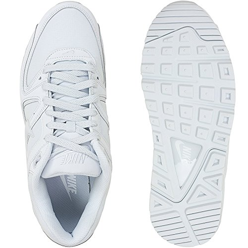 Nike  Air Max Command, Chaussures de running homme Blanco (White / White-White)