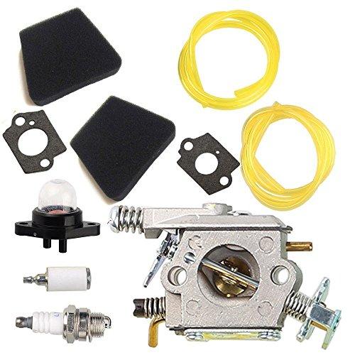 tucparts Vergaser-Luftfilter für Poulan 222262190019502155Handwerker Walbro wt-89wt-891wt-20wt-324wt-391 (Poulan Rasenmäher Luftfilter)