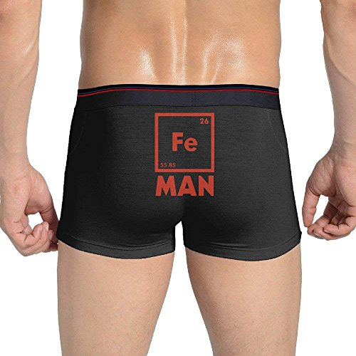 Desing shop Iron Science Fe Man Men's Breathable Boxer Briefs Underwear XX-Large