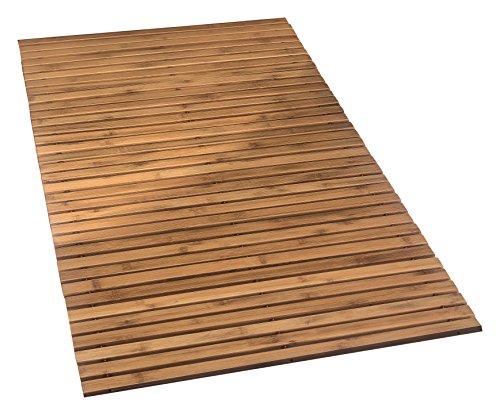 Kleine Wolke 4072202455 Holzmatte Level, 100 Prozent Bambus, Natur, 115 x 60 cm