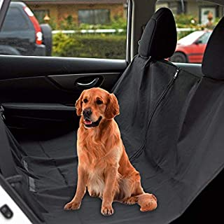 PetsN'all Dog Seat Cover, Waterproof and Machine Washable, with A Safety Seat Belt and Carry Bag, Dog Hammock Regular Size (60 * 58 inch) (HR3912-1)