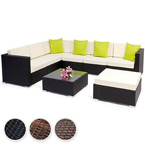Tectake Aluminio Polirat N Conjunto Tresillo Muebles De