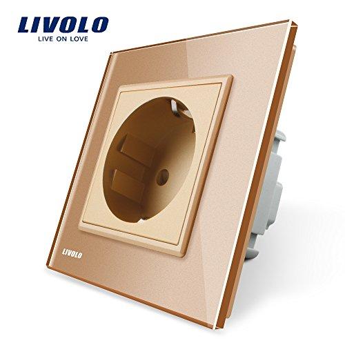 LIVOLO-EU-Standard-Schuko-Steckdosen-Luxus-aus-Kristall-Glas-Wandsteckdosen
