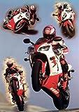 Motorräder - Yamaha Collage Poster