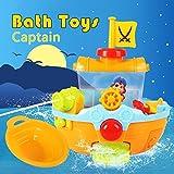 Piratenschiff Badewannen spielzeug Baby Wasserspiel für kinder mit der Wasserkanone