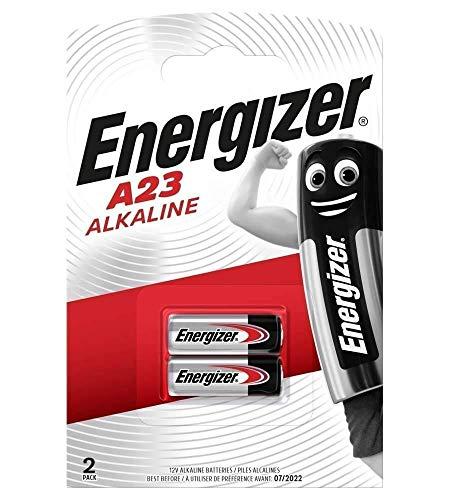 Energizer Alkali-Batterien, A23 /MN21/ LRV08/ GP23A, 12V,Doppelpackung