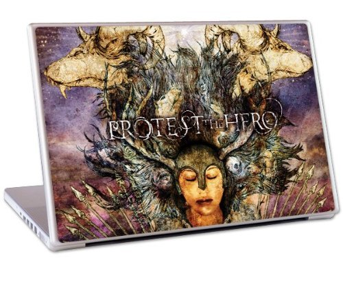 MusicSkins - Skin protettiva Protest The Hero'Fortress' per MacBook Pro e PC portatili da 15''