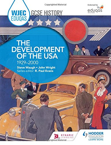 WJEC Eduqas GCSE History: The Development of the USA, 1929-2000 Test