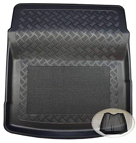 Preisvergleich Produktbild ZentimeX Z3023716 Antirutsch Kofferraumwanne fahrzeugspezifisch + Klett-Organizer (Laderaumwanne,  Kofferraummatte)