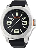 BOSS Orange Herren-Armbanduhr XL Sao Paulo Analog Quarz Silikon 1513107