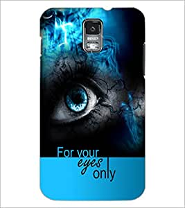 PrintDhaba Quote D-5938 Back Case Cover for SAMSUNG GALAXY S5 (Multi-Coloured)
